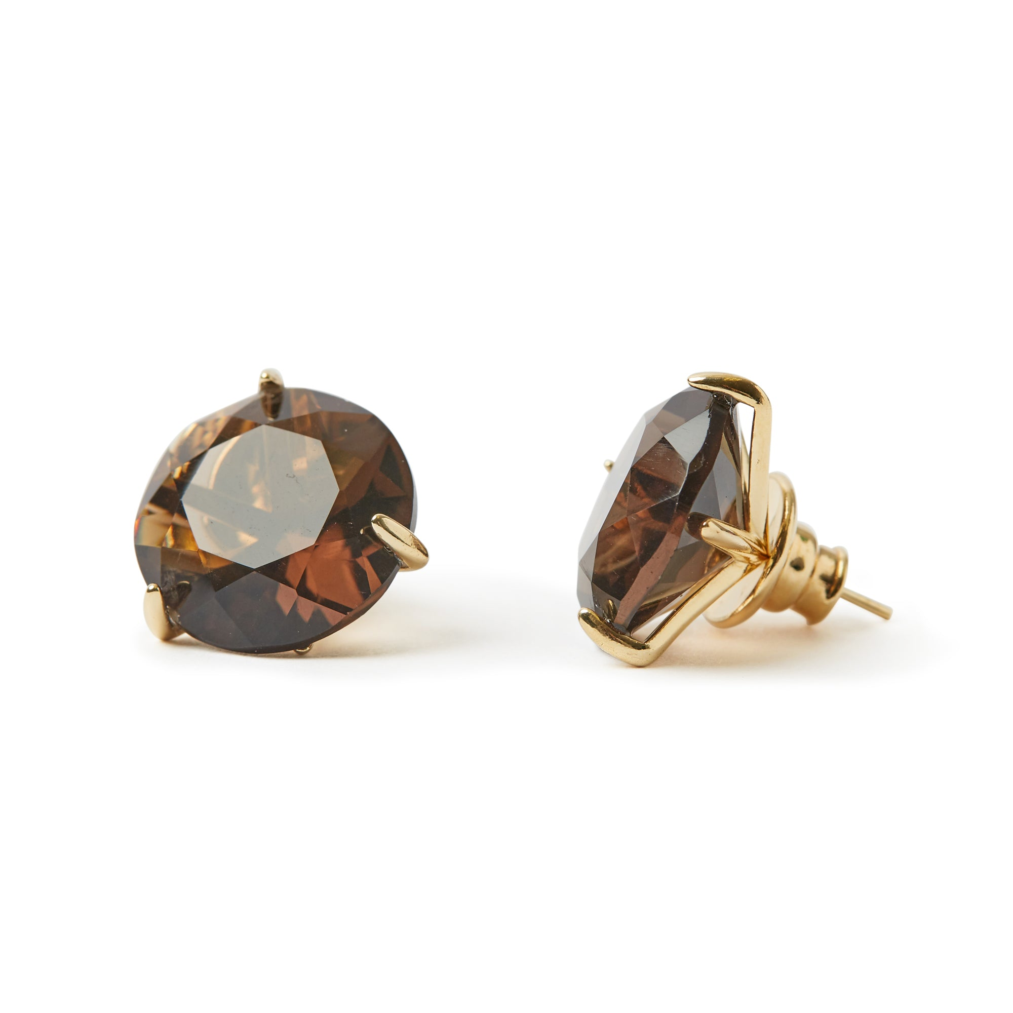 Stelle  Earrings Smoky Quartz