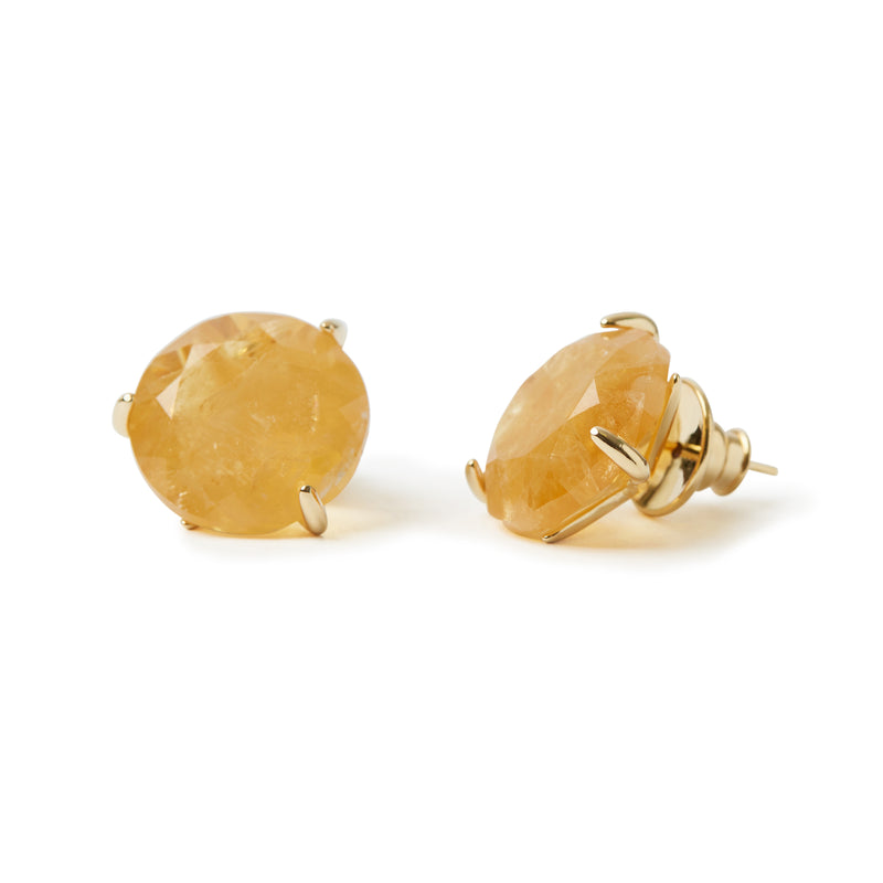 Stelle Earrings Citrine