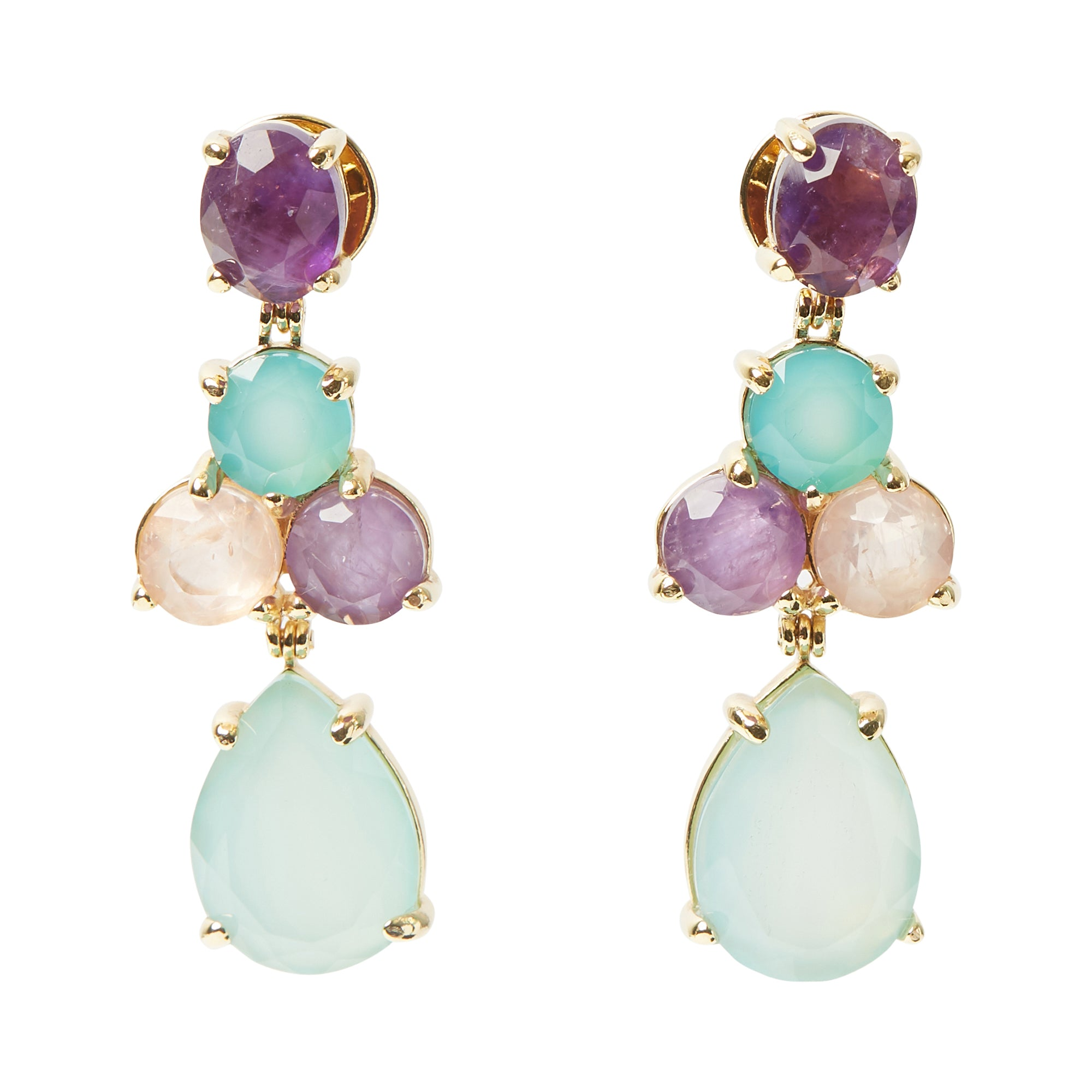Soiree Earrings Spring Colors