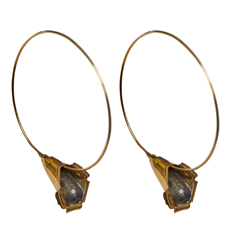 Cocoon Fume Earrings