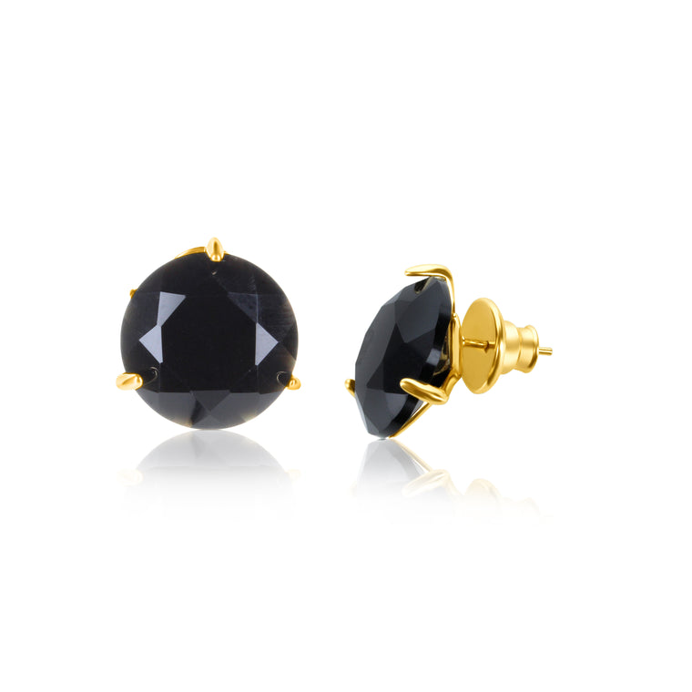 Stelle Earrings Onyx
