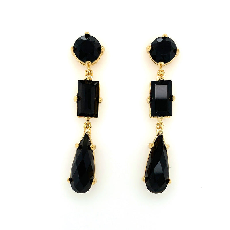 Noir Onyx Earrings