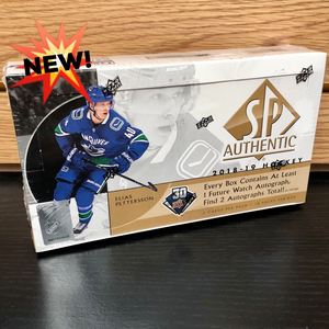 2018-19 Upper Deck SP Authentic Hobby Hockey Cards