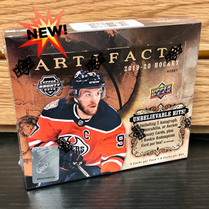 2019-20 Upper Deck Artifacts Hobby Hockey Cards