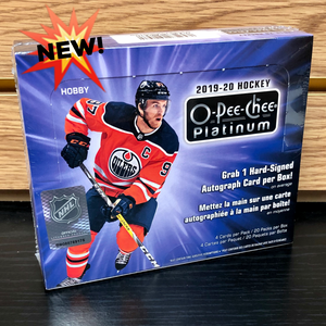 2019-20 Upper Deck O-Pee-Chee Platinum Hobby Hockey Cards