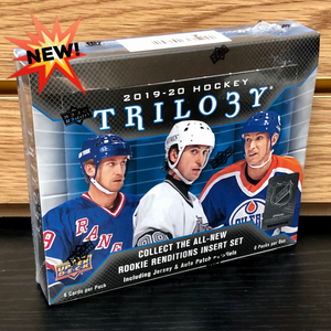 2019-20 Upper Deck Trilogy Hobby Hockey Cards