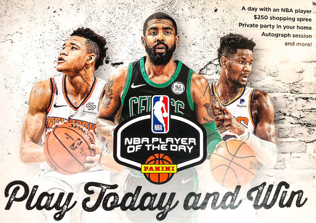 PANINI NBA PLAYER OF THE DAY PROMOTION!!
