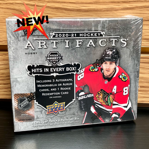 2020-21 Upper Deck Artifacts Hobby Hockey Cards
