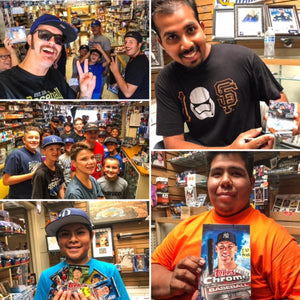 Thank you to everyone who came out for National Baseball Card Day!!!