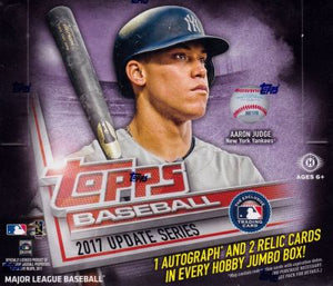 2017 Topps Update RIP PARTY! - October 21st @ 2pm