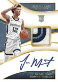 2019-20 Panini Immaculate Hobby Basketball Cards