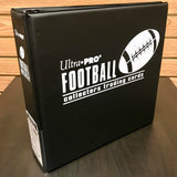 Ultra-Pro Jumbo 3-Ring Binder Football Album