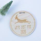 Debt Free 2020 Milestone Ornament