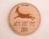 Debt Free 2019 Milestone Ornament