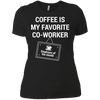 Coffee Is My Favorite Co-Worker Shirt for Men & Women