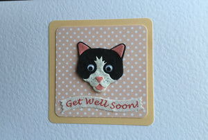 Get Well Soon - Cat