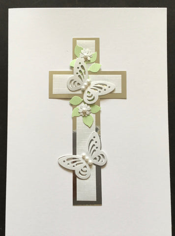 Any Occasion - Cross with Butterfly