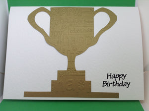 Happy Birthday - Gold Cup
