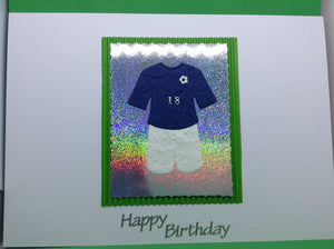 Happy 18th Birthday - Football Kit
