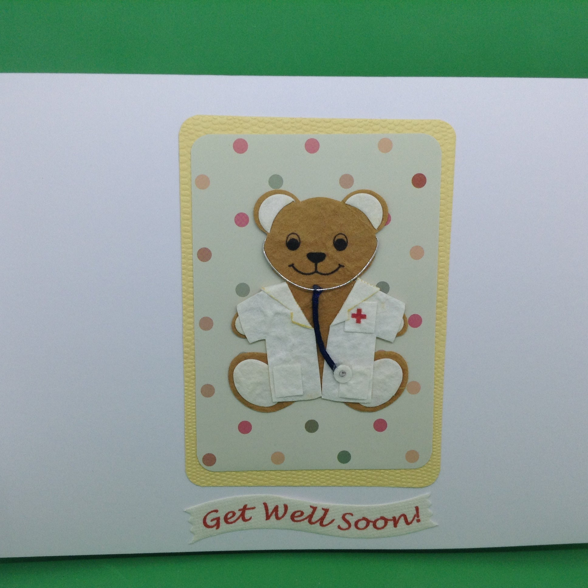 Get Well Soon - Bear