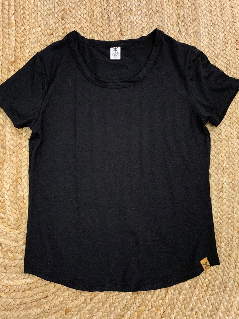Black Bamboo Everyday Tee