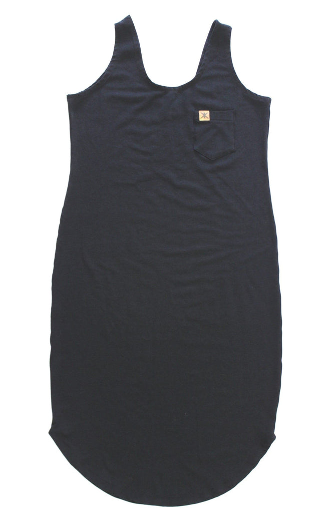 Adult's,Dresses - Simple Black Adult Tank Dress PRESALE 1-2 Weeks