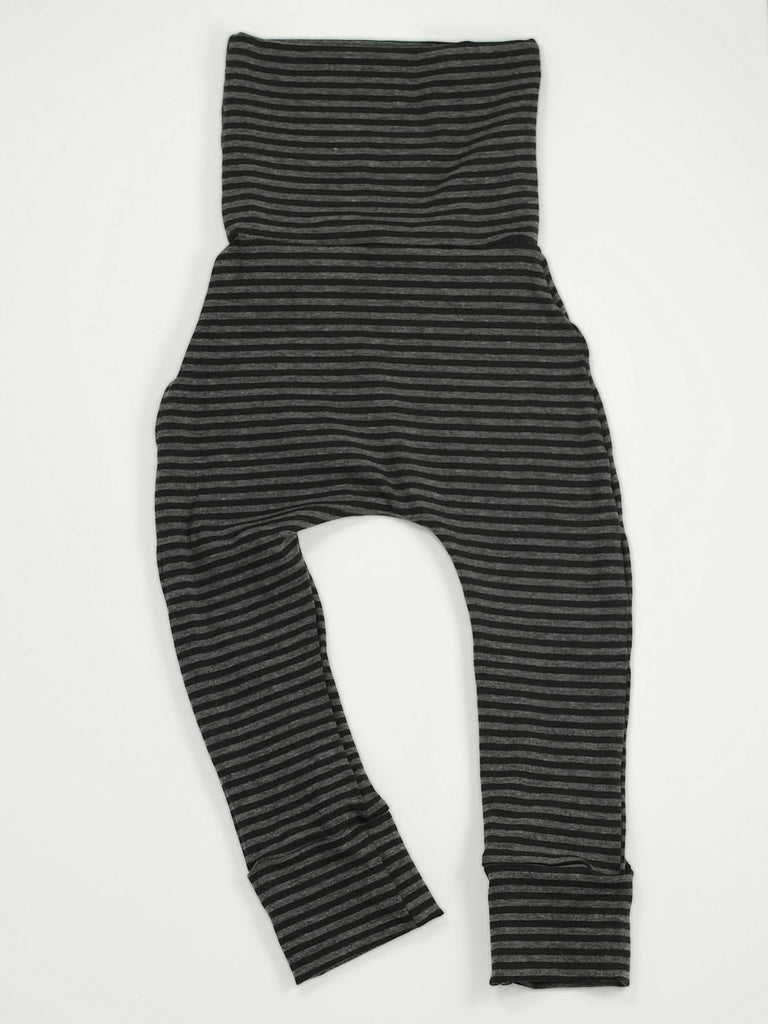 Bottoms - Coal Stripe Skinnies