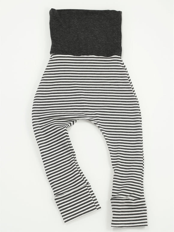 Bottoms - Dust Stripe Bamboo Skinnies