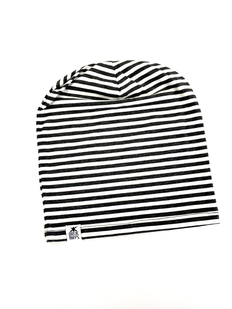 Hats,Adult's - Dust Stripe Bamboo Slouchy Hat