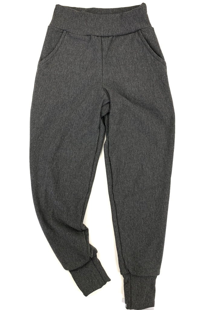 Kids Coal Bamboo Fleece Joggers