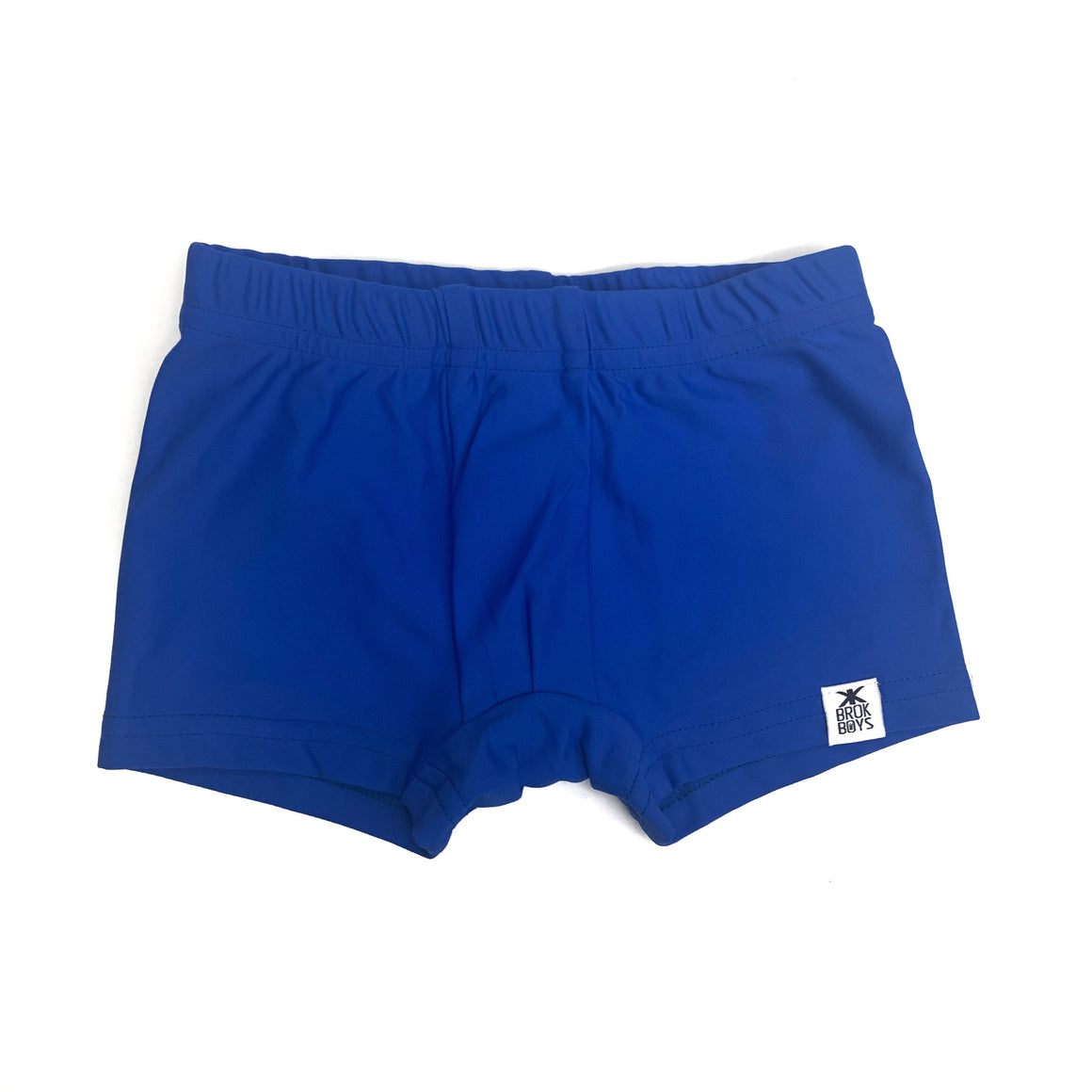 Electric Blue Shortie Swimmers