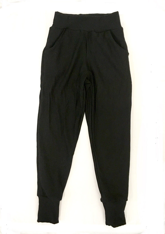 Kids Simple Bamboo Fleece Joggers 6/7 ONLY
