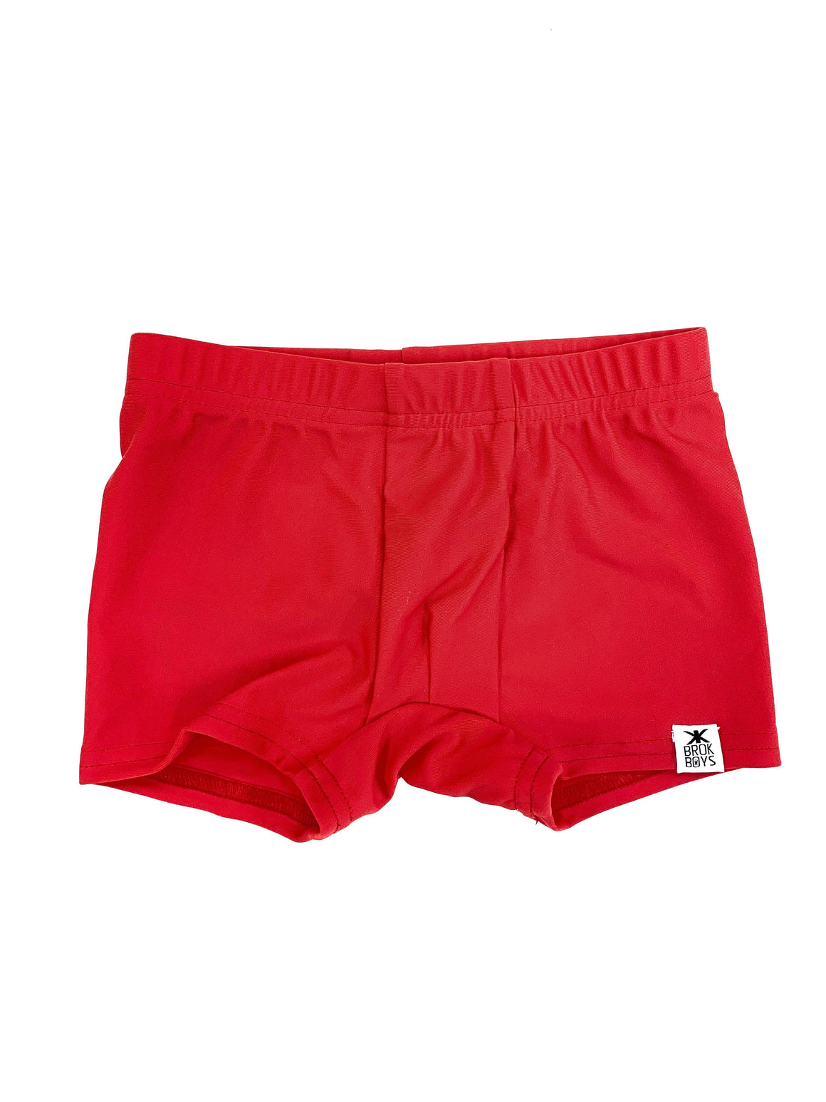 Lifeguard Red Shortie Swimmers
