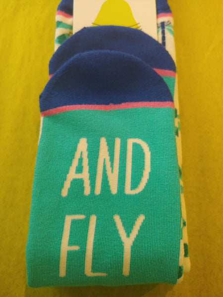 Dragonfly Knee Socks