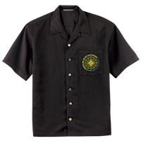 Embroidered Camp Shirt