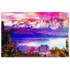 "Image of Canvas Wall Design: ""Lake Tahoe in Winter"""