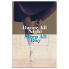 "Image of Canvas Wall Decor: ""Dance All Night Sleep All Day"""