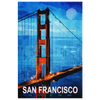 Image of Wall Art: San Francisco The City by The Bay