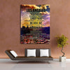 Image of Los Angeles Streets - Canvas Art by Treasureopolis.com