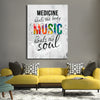 Image of Medicine Heals the Body Music Heals the Soul - Canvas Art by Treasureolopis.com