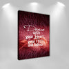 "Image of Dancers Wall Art: ""Dance With Your Heart Your Feet Will Follow"" by Treasureopolis.com"