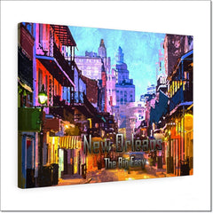 New Orleans The Big Easy - Original Canvas Art by Treasureopolis.com