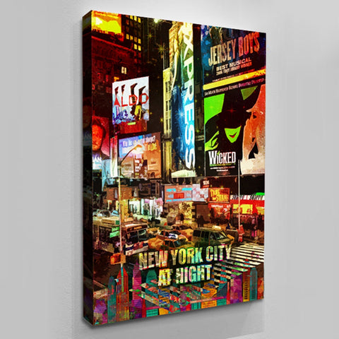 Wall Decor: New York At Night