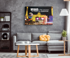Image of Stretched Canvas Wall Art: Vegas Is The Answer No Matter The Question