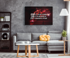 "Image of Canvas Wall Art ""Dance, Sing, Live"""