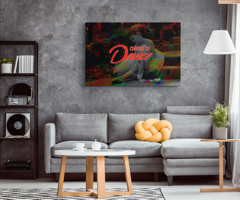 "Dance Lovers Canvas Wall Art: ""Choose To Dance"""