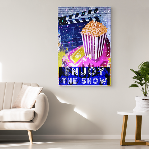 "Canvas Wall Art: ""Enjoy The Show"""