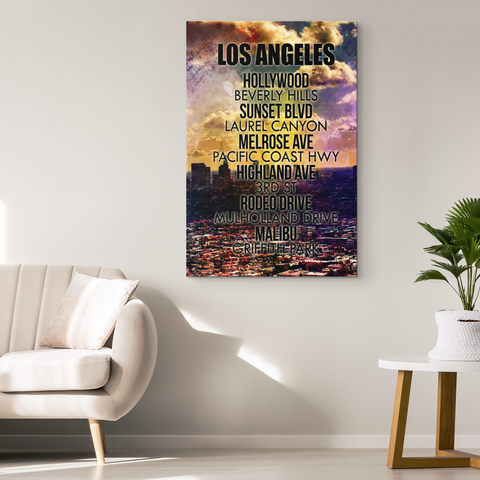 "Wall Art: ""Los Angeles Streets"""