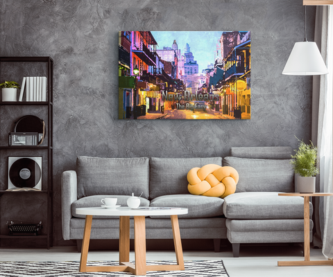 Canvas Wall Design: New Orleans The Big Easy