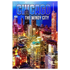 "Wall Art: ""Chicago The Windy City"""